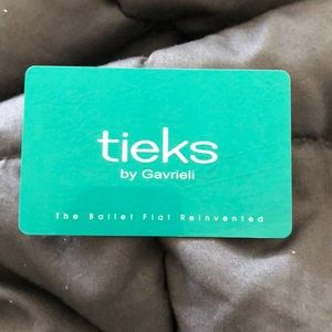 I am selling a $50 gift card for Tieks.